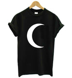 Crescent Moon Women Tshirt