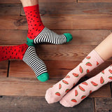 Creative Watermelon Design Socks