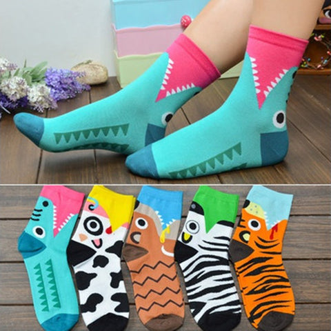 Creative Cartoon Design Socks