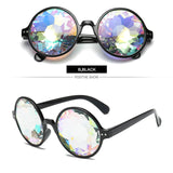 Retro Round Kaleidoscope Sunglasses