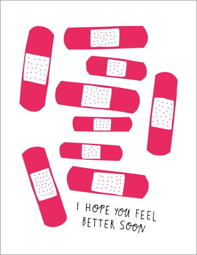 HOPE YOU FEEL BETTER SOON - Card