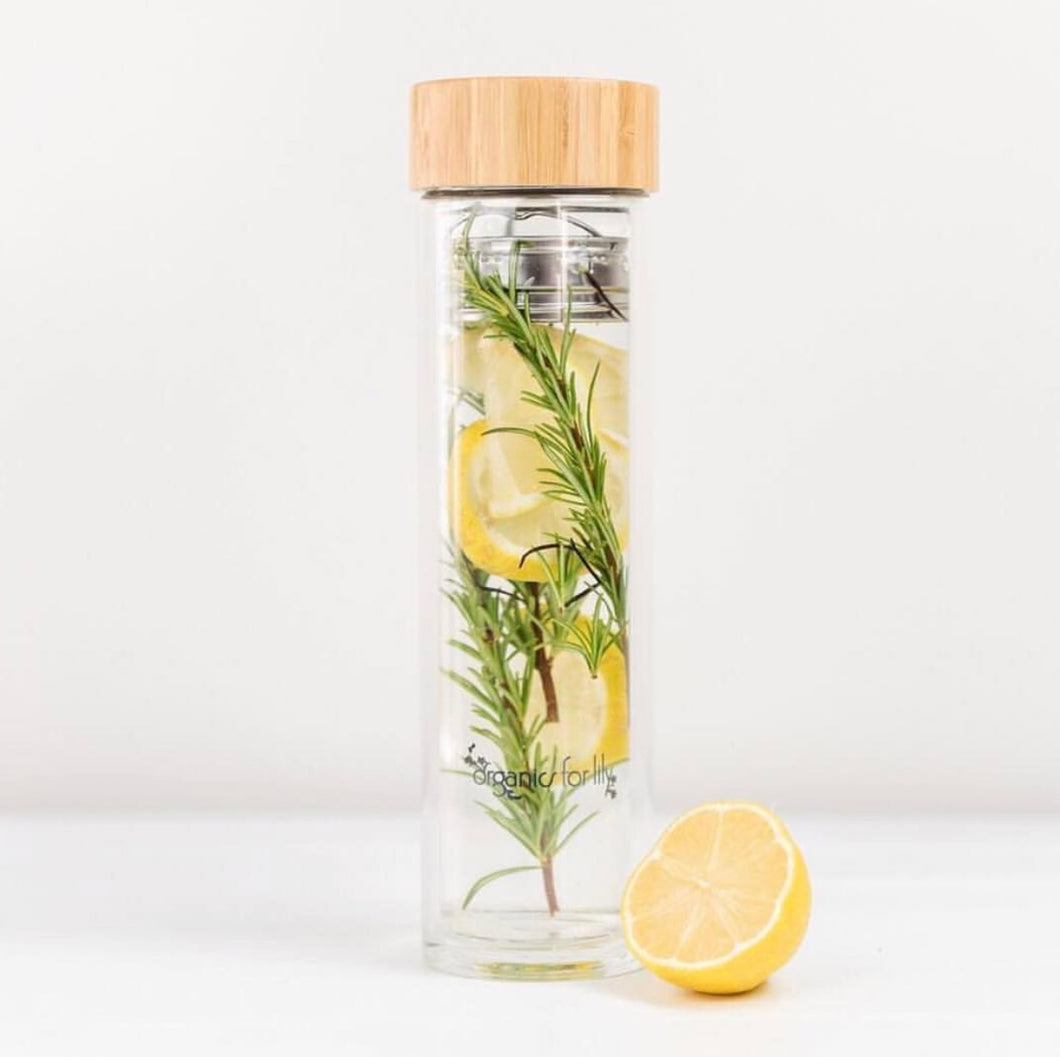 Glass Tea Bottle 500ml