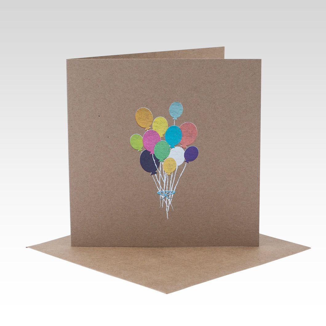 Bunch of Balloons Card