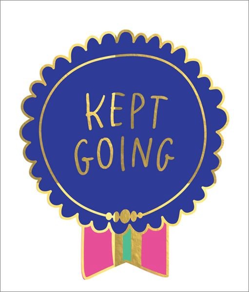 KEEP GOING - Card