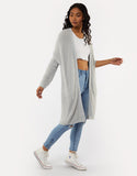 All About Eve Scarlett Cardigan - Grey