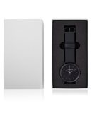 The Horse Watch - Matte Black/White Second Hand
