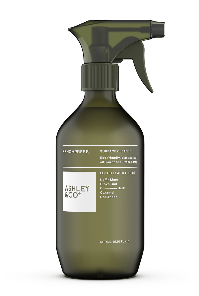 Ashley & Co BenchPress Surface Cleaner - Lotus Leaf & Lustre