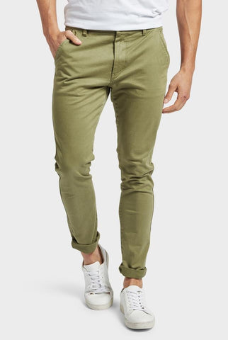 The Academy Brand Skinny Stretch Chino - Olive