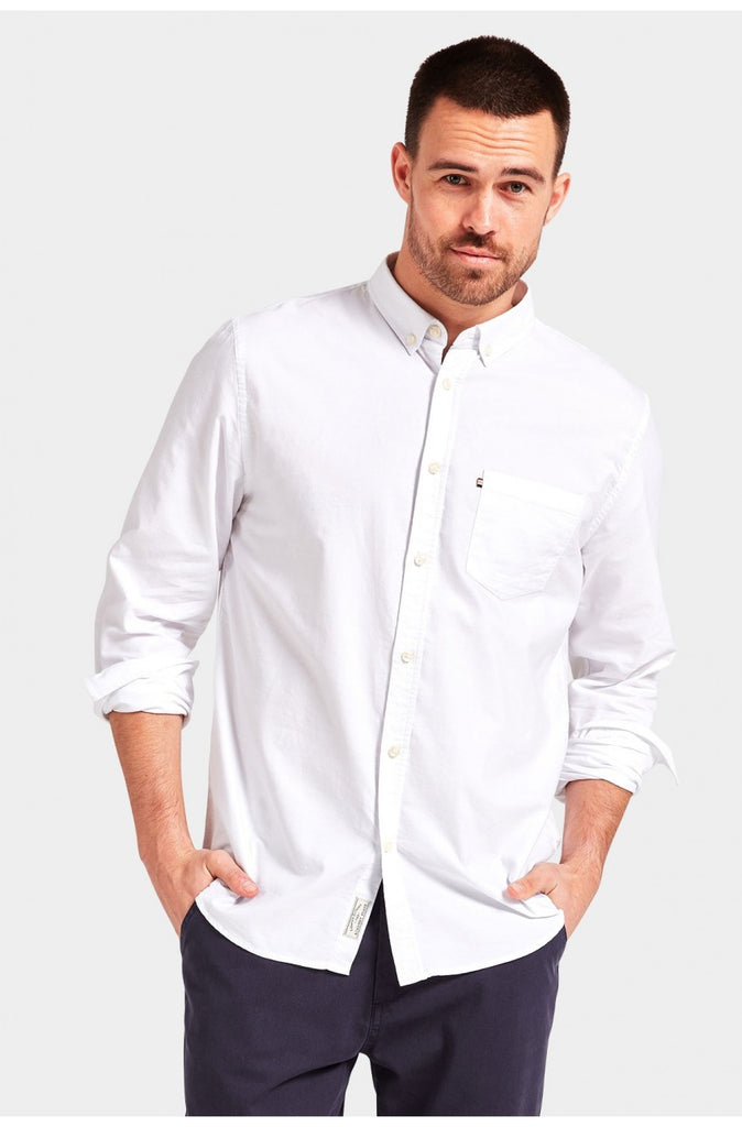 The Academy Brand Dillon Shirt - White