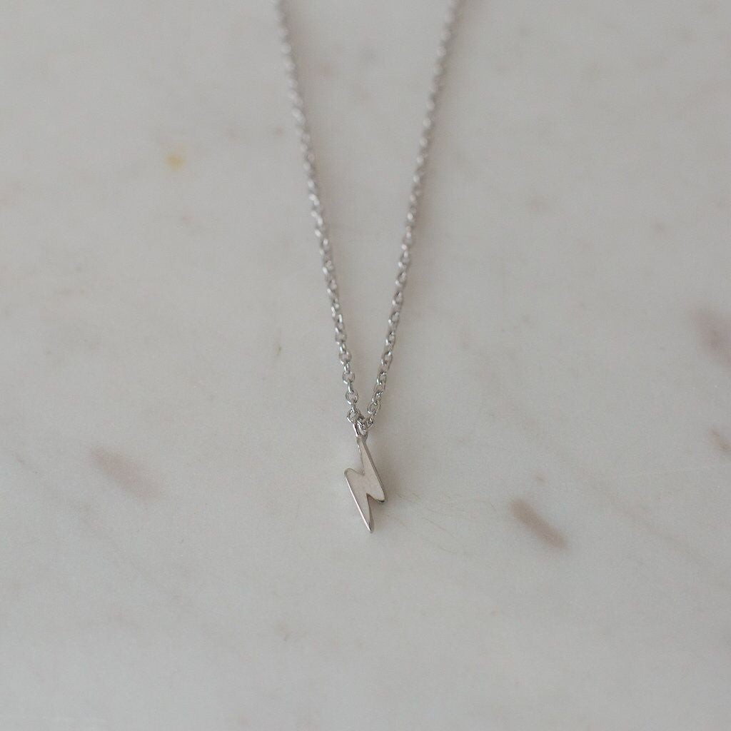 Sophie Flashy Necklace - Silver