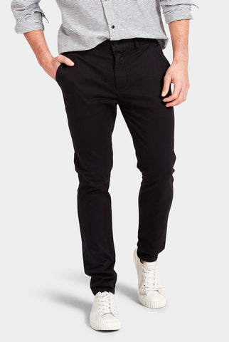 The Academy Brand Skinny Stretch Chino - Black