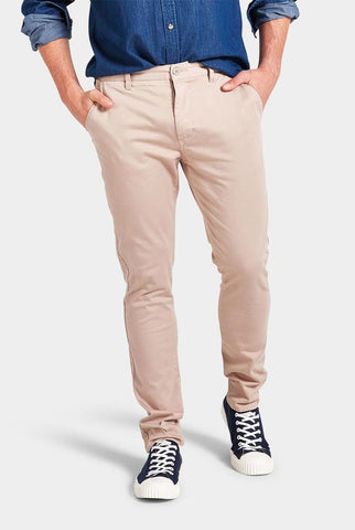 The Academy Brand Skinny Stretch Chino - Concrete