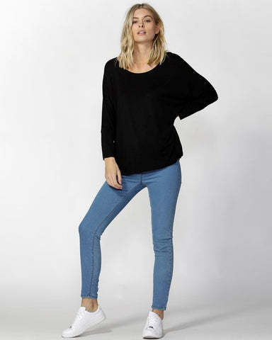 Betty Basics Leah Knit Cardigan - Black