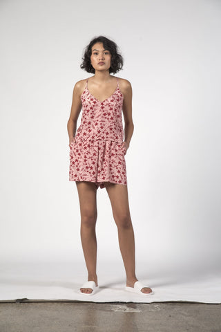 Thing Thing Mae Shorts - Floral Pink
