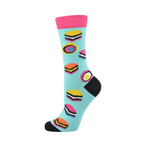 Bamboozld Womens Sock - Licorice Allsorts