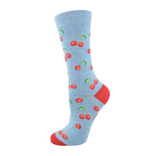 Bamboozld Womens Sock - Cherry Picker