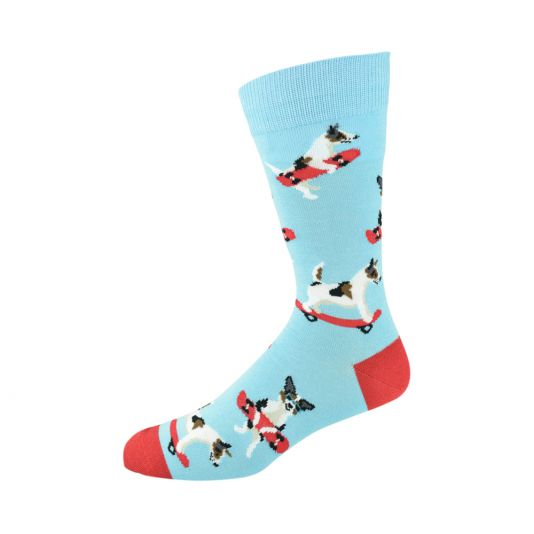 Bamboozld Mens Sock - Jack Russell