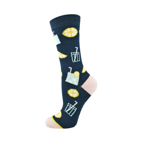 Bamboozld Womens Sock - Lemonade