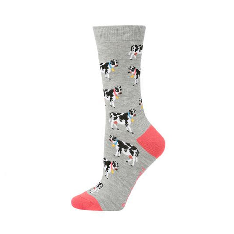 Bamboozld Womens Sock - Jezebel (Cow)