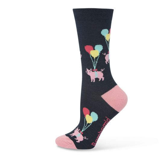 Bamboozled Womens Sock - Pigs will fly