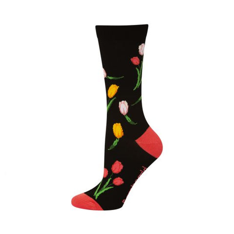 Bamboozld Womens Sock - Tulips