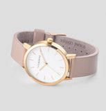 The Horse Watch Original - Rose Gold with Blush Leather