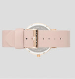 The Horse Watch - Polished Rose Gold/Blush Leather