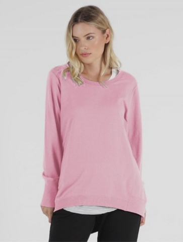 Betty Basics Dolly Sweat - Peony Pink
