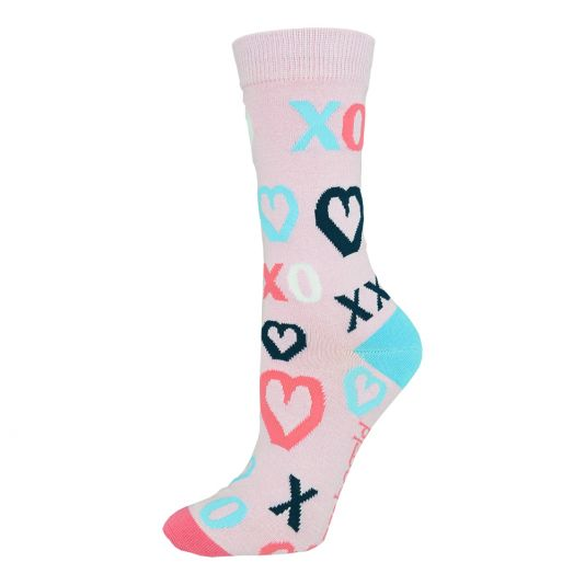 Bamboozld Womens Sock - Kiss Hugs