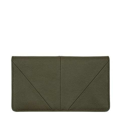 Status Anxiety Triple Threat Wallet - Khaki