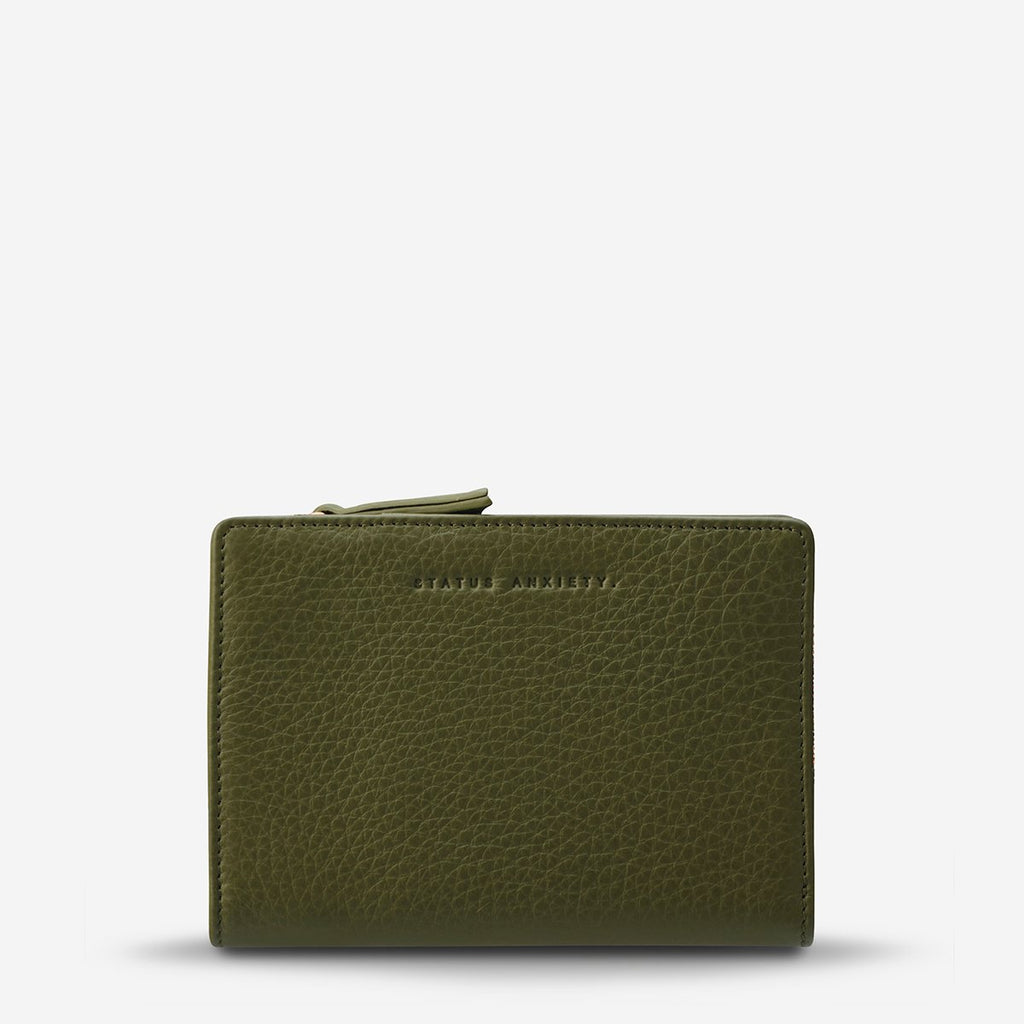 Status Anxiety Insurgency Wallet - Khaki