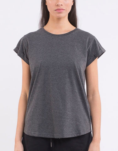 Silent Theory Lucy Tee - Charcoal (2 for $50)