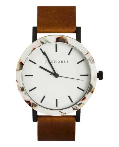 The Horse Resin Watch - Tan Nougat