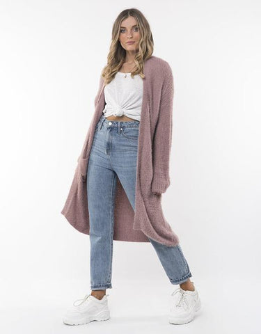 All About Eve Scarlett Cardigan - Pink
