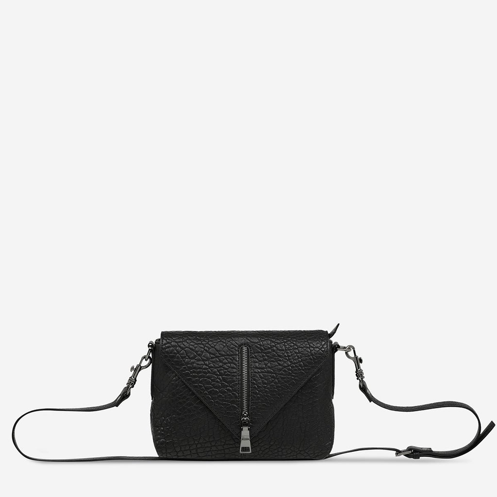 Status Anxiety Exile Bag - Black Bubble