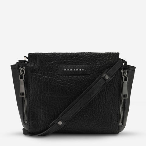 Status Anxiety The Ascendants Bag - Black Bubble/Gun Metal