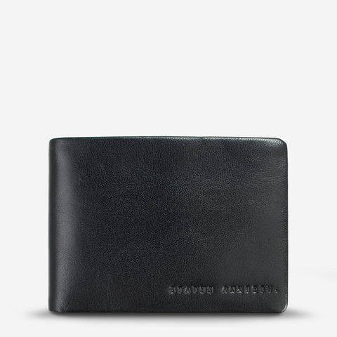 Status Anxiety Jonah Wallet - Black