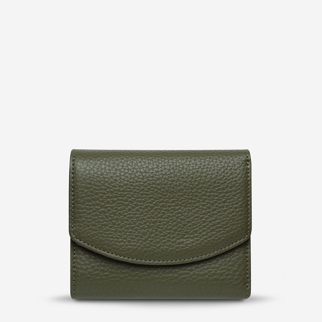 Status Anxiety Lucky Sometimes Wallet - Khaki