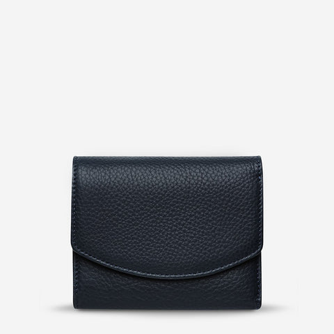 Status Anxiety Lucky Sometimes Wallet - Navy Blue