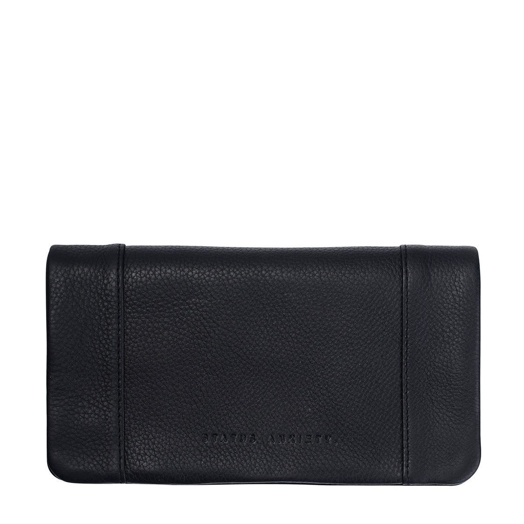Status Anxiety Some Type of Love Wallet - Black | Status Anxiety Womens Wallets NZ