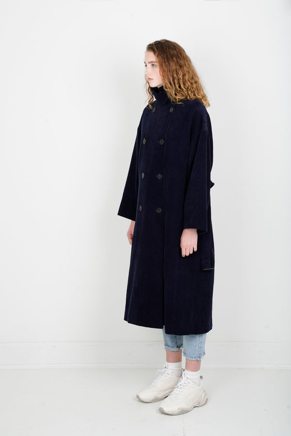 Corduroy Trench Coat