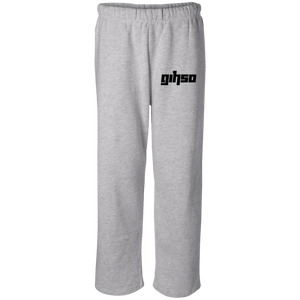 GIHSO Badger Open Bottom Sweatpant with Pockets