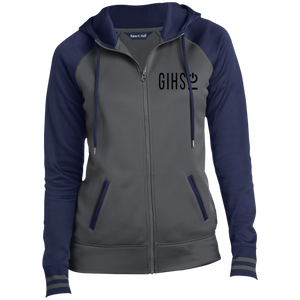 GIHSO Ladies' Moisture Wick Full-Zip Hooded Jacket