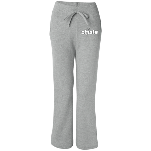 Chiefs Gildan Women's Open Bottom Sweatpants with Pockets