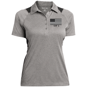 GIHSO USA Of 1 Sport-Tek Ladies' Heather Moisture Wicking Polo