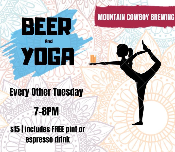 Beer & Yoga Event February 18, 2020