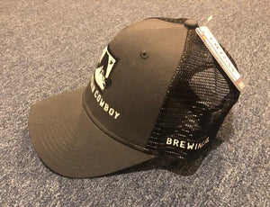 Industrial Canvas Mesh Cap with Hat Logo