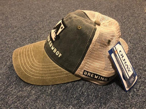 Legend Vintage Wash Trucker Cap with Hat Logo