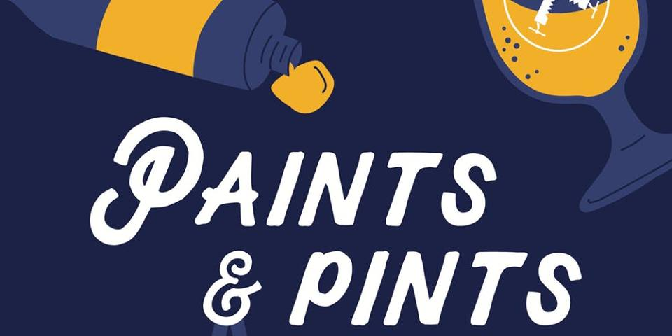 Jan 29, 2019 Paints and Pints Event