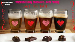 Valentine's Day Beer & Chocolate Pairing Event